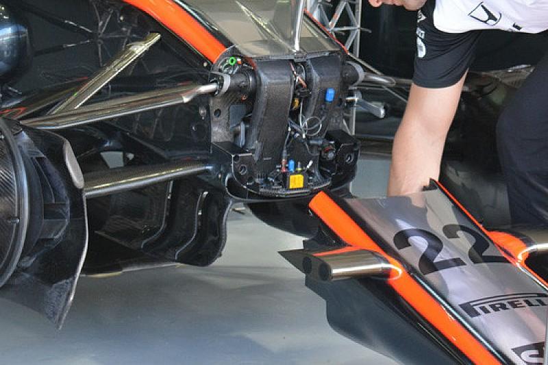 McLaren: anche sulla MP4-30 compare l'S-duct