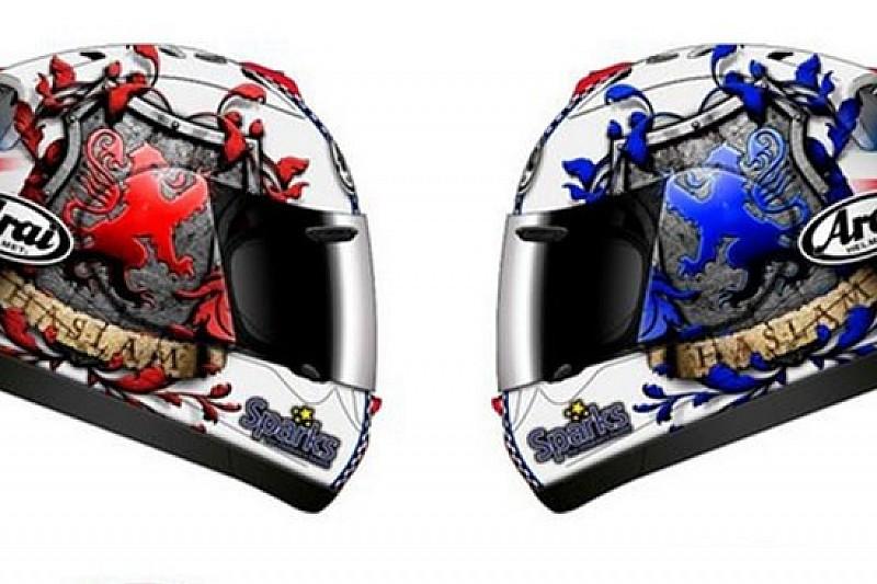 Ecco il casco di Leon Haslam per Donington Park