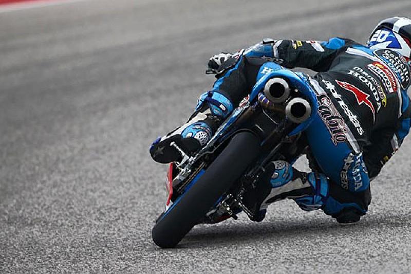 Quartararo sul podio alla seconda gara in Moto3