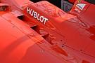 Ferrari: tre feritoie ai lati dell'abitacolo della SF15-T