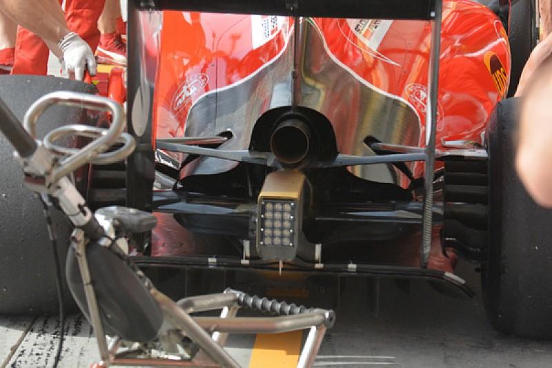 Ferrari: più aperta la carrozzeria nel retrotreno