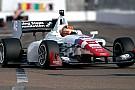 Jack Harvey in pole position a Long Beach