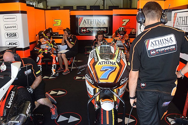 Il Forward Racing ha provato nuovo materiale Ohlins