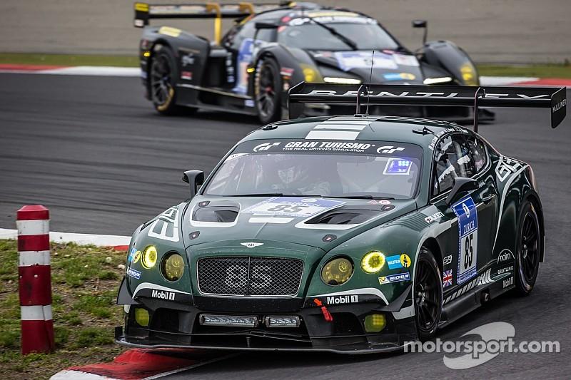Bentley Motorsport gains valuable experience at grueling Nürburgring 24-Hour race