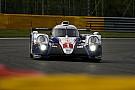 Kobayashi testing for Toyota at Spa