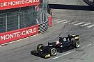 Brundle teste les Pirelli 18