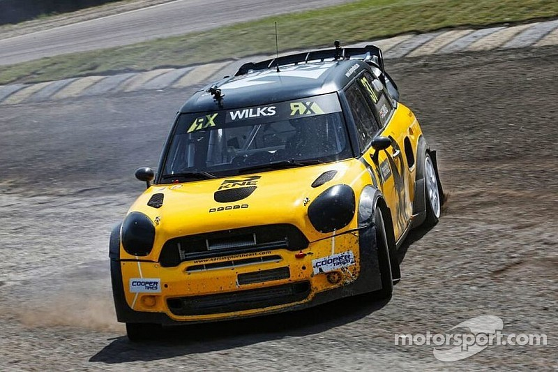 Final success for JRM Racing at World RX of Great Britain