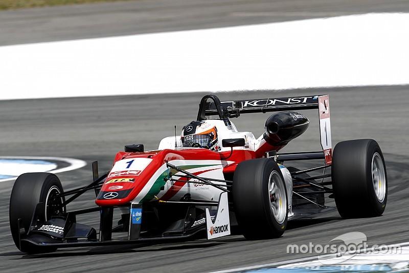 Розенквист выиграл первую квалификацию в Монце