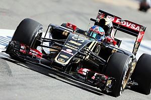 Formule 1 Actualités Lotus comprend l'inquiétude de Grosjean vis-à-vis de Palmer