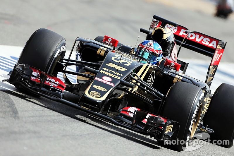 Lotus comprend l'inquiétude de Grosjean vis-à-vis de Palmer