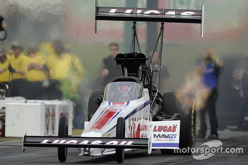 Hot streak has Top Fuel's Richie Crampton excited for return to Summernationals