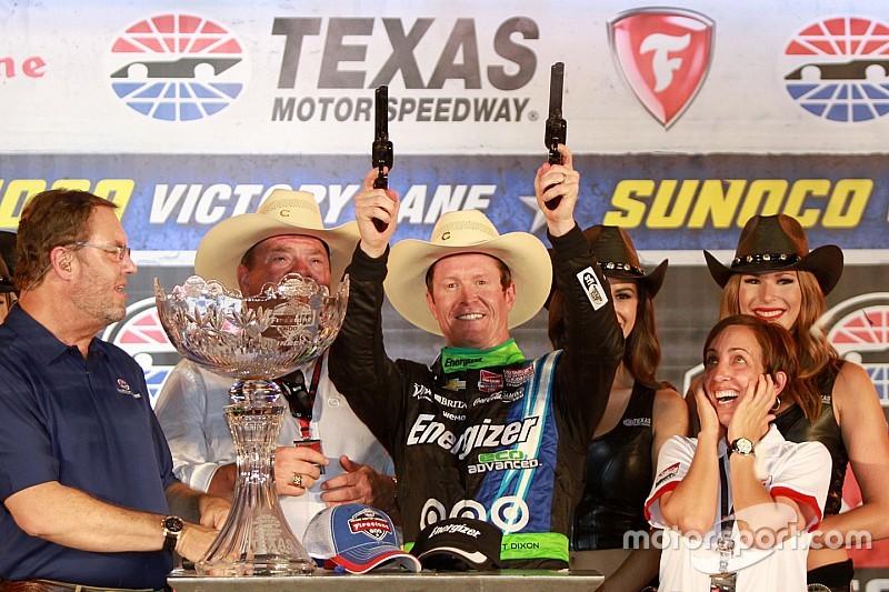 Scott Dixon brilla y gana en Texas