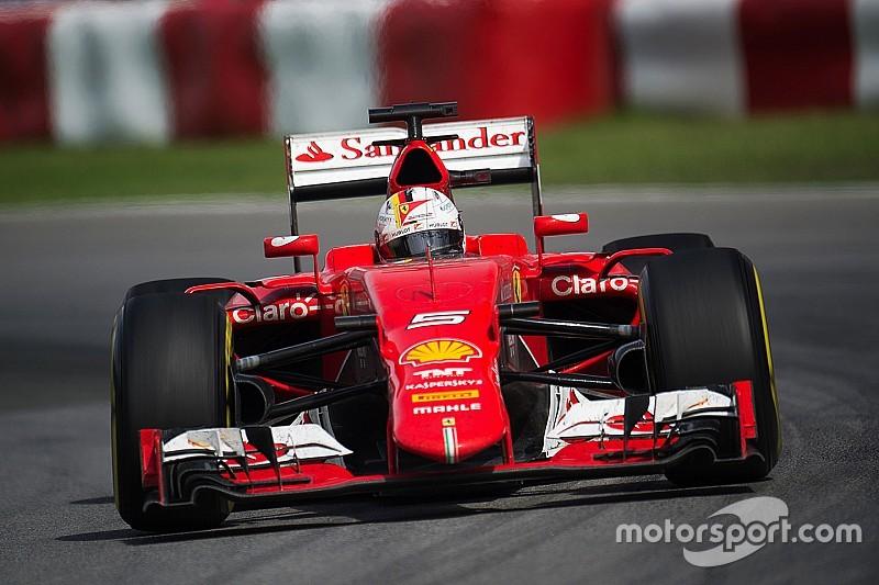 Ferrari reste confiant malgré l'échec du Canada