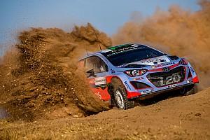 WRC Race report Hyundai Motorsport celebrates double podium finish in Rally Italia Sardegna