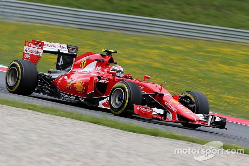 Raikkonen blames Ferrari error for Q1 exit