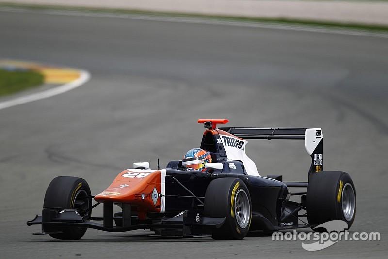 Tunjo logra su primera victoria en la GP3
