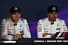 Hamilton - Rosberg était plus rapide aujourd'hui