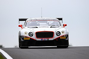 Blancpain Sprint Breaking news Bentley debut for Max Van Splunteren in Moscow
