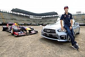 F1 Noticias de última hora Ricciardo es el primer piloto de F1 que prueba el circuito de México