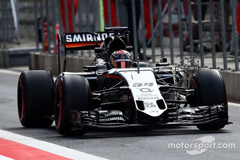 Pérez cree que en Silverstone no se verán las mejoras