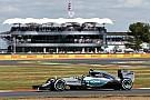 Rosberg intentó atacar a Hamilton, pero no fue suficiente
