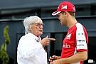 Ecclestone - Les pilotes n'aiment pas la F1 actuelle