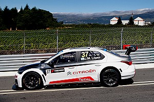 WTCC Race report Lopez leads Loeb in a Citroen 1-2 in the first Vila Real race