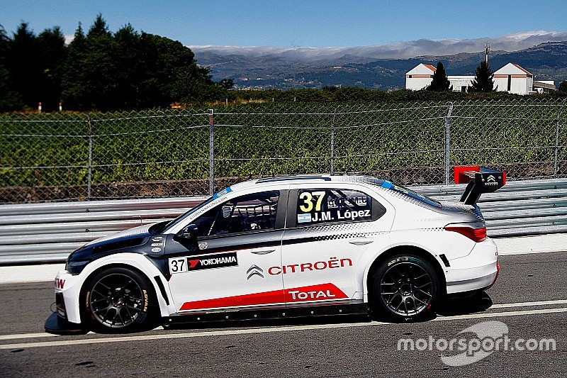 Lopez leads Loeb in a Citroen 1-2 in the first Vila Real race