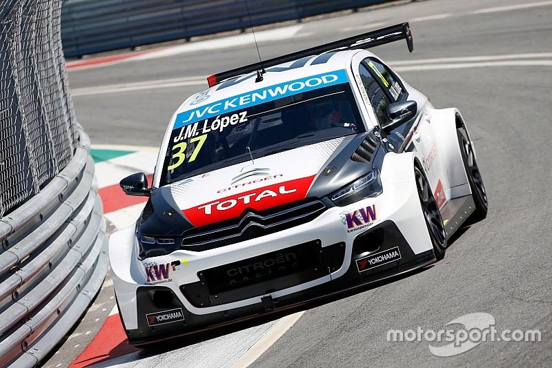 Com López na primeira e Qing Hua na segunda, Citroën domina em Portugal