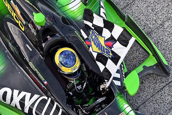 IndyCar Bourdais dominates at Milwaukee