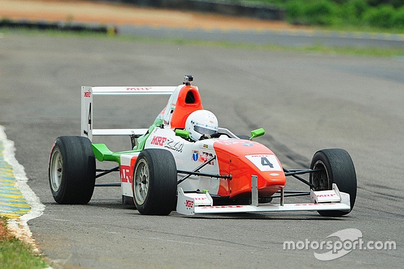 Parekh elated to be on pole at Coimbatore