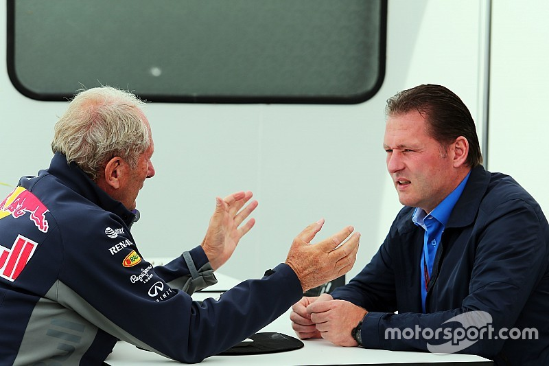 "Jos Verstappen - ""Aucun contact"" entre Max et Ferrari"