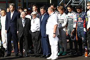 Formula 1 Press release FIA's statement on Bianchi's demise