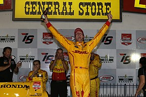 IndyCar Interview Victory a breath of fresh air for Hunter-Reay and Andretti