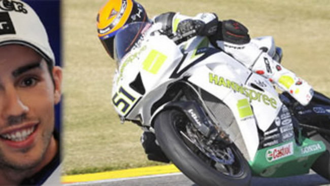Michele Pirro con Honda Ten Kate in SS