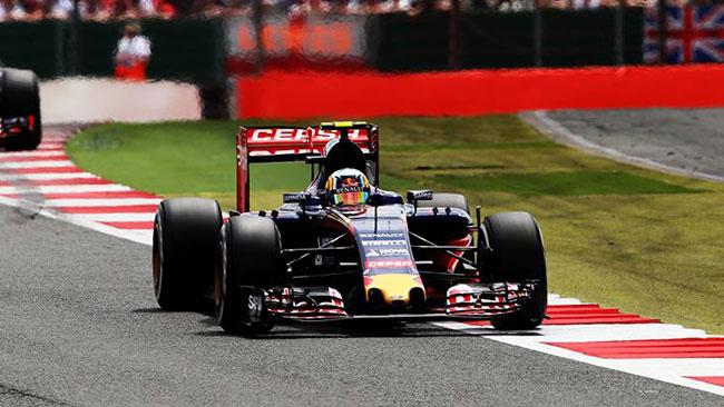 Sainz non è stato tradito dal motore a Silverstone