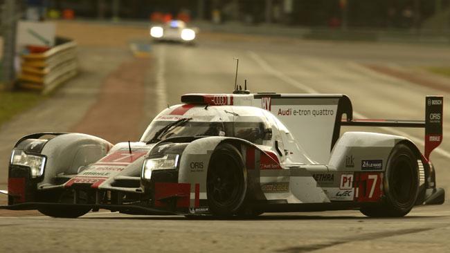 Dopo Le Mans penalizzata l'Audi numero 7