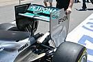 Mercedes: torna il flap tagliato vicino alle paratie
