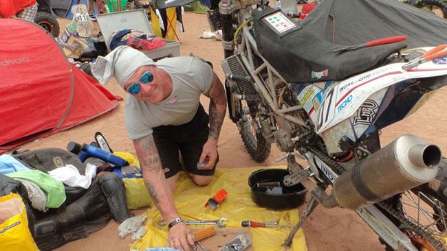 Dakar 2015: Diocleziano Toia e la caccia al... pignone!