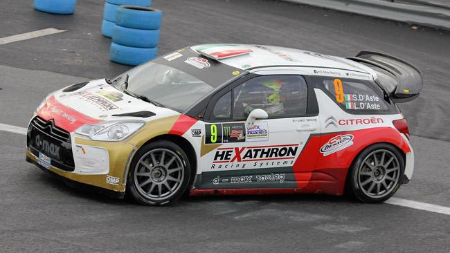 Un ottimo d'Aste sul podio al Monza Rally Show