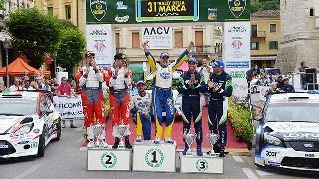 Selezionate sei gare per il Tricolore WRC 2015