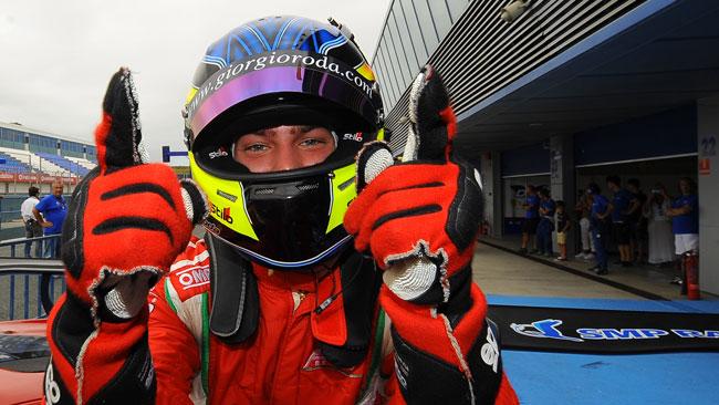 Giorgio Roda campione 2014 della classe GTS