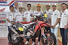 Dakar 2015: la Honda HRC si schiera a cinque punte