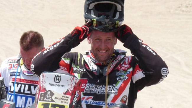 Dakar: una Yamaha ufficiale per Alessandro Botturi!