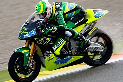 Eric Granado al via a Misano con una Moto2