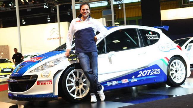 Andreucci scommette ancora sulla 207 Super 2000
