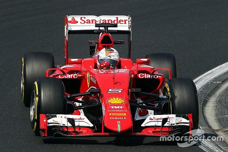 Pas la meilleure journée pour Vettel et Ferrari