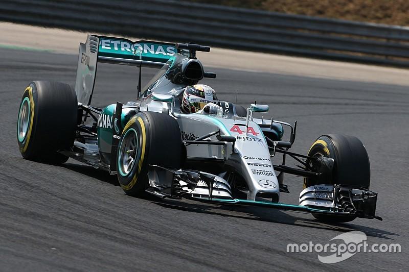 """Lewis Hamilton est """"incroyablement heureux"""""""