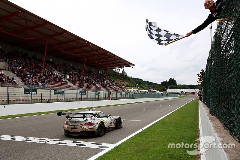 """Победа в гонке """"24 часа Спа"""" впервые с 1998 года досталась BMW"""