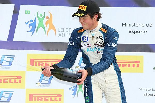 Mesmo com Safety Car, Pedro Piquet vence de ponta a ponta